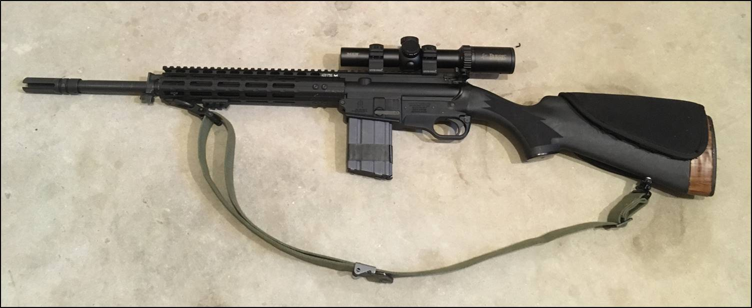 Fightlite Scr Review And Build Tips Remington870partsdiagram The Butt Plate Rests Against Shooters Rifles Upper Receiver Assembly Was Not Sourced From Industries In Any Way So Reliability Accuracy Of Reviewed Rifle Has Only A
